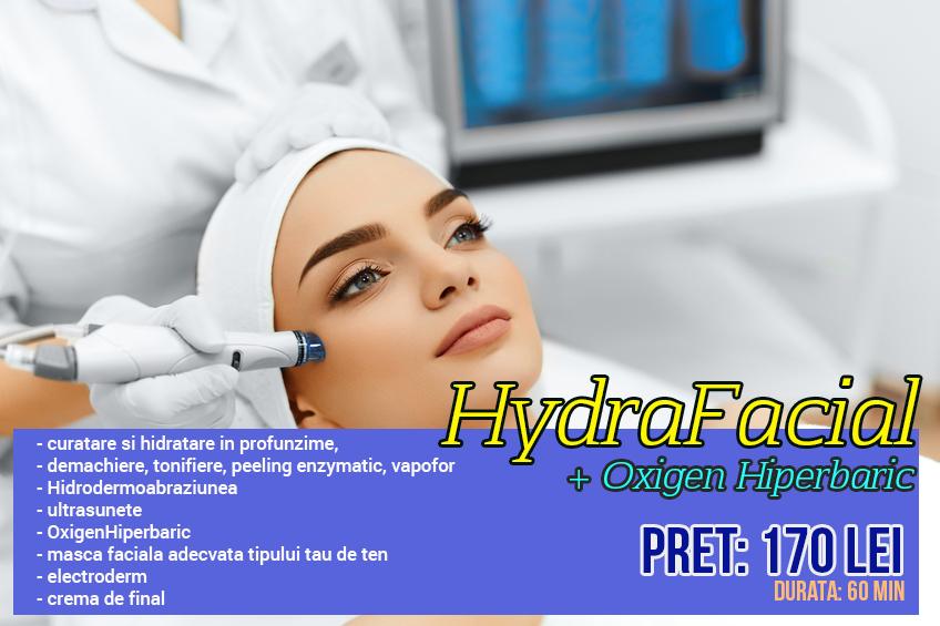 tratament hydrafacial sandalspa